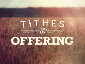 Tithes and Offerings wheat field